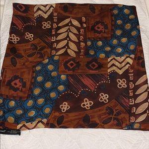 Harvé Benard scarf 100% silk
